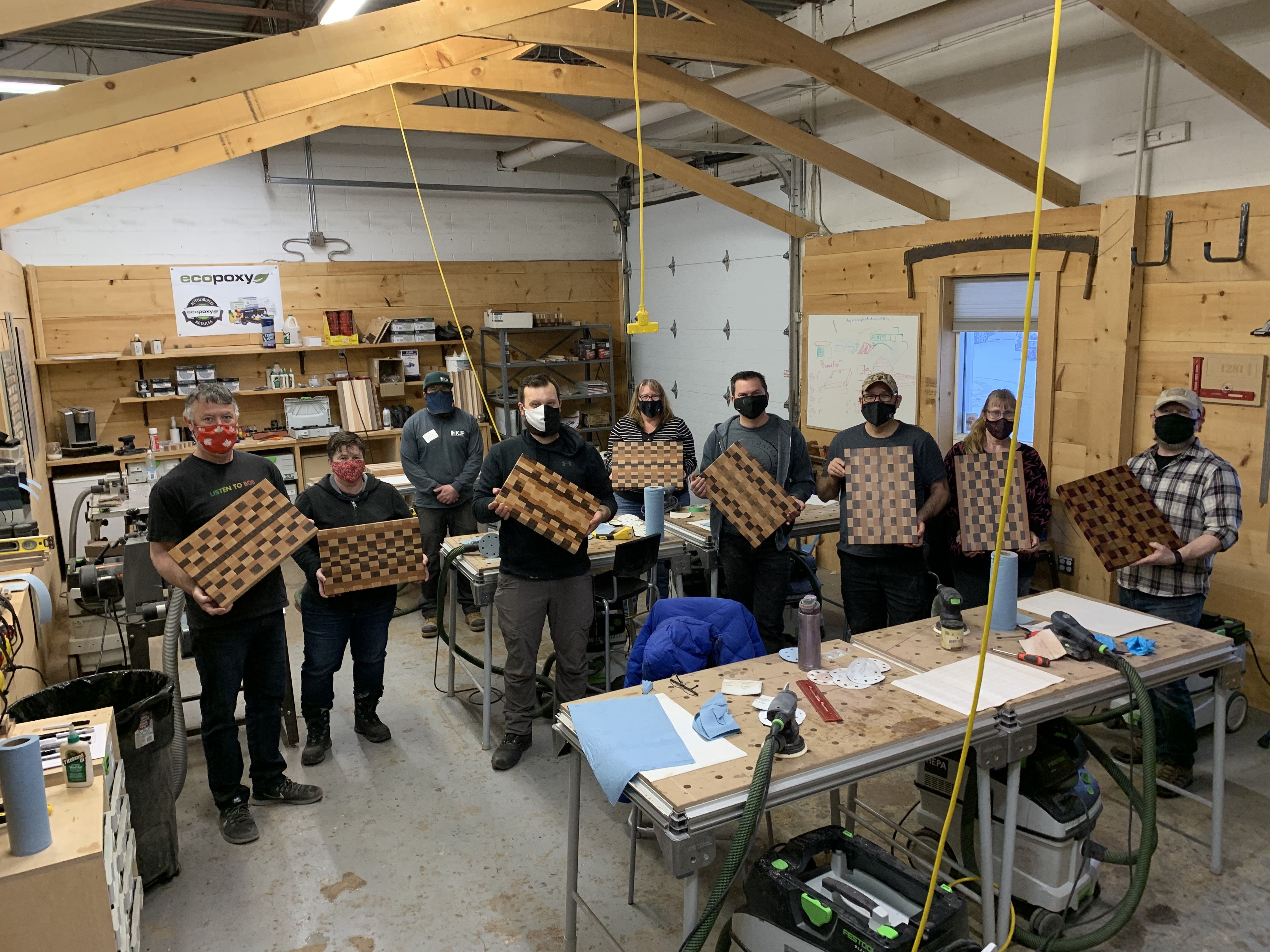 Soldier On Members Bring Home Handmade Woodworking Creations Image