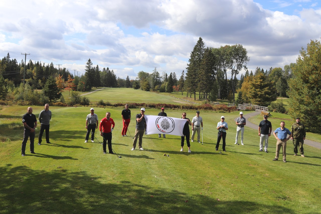 Soldier On Golf Game: Rediscovering Health Through Sport Image