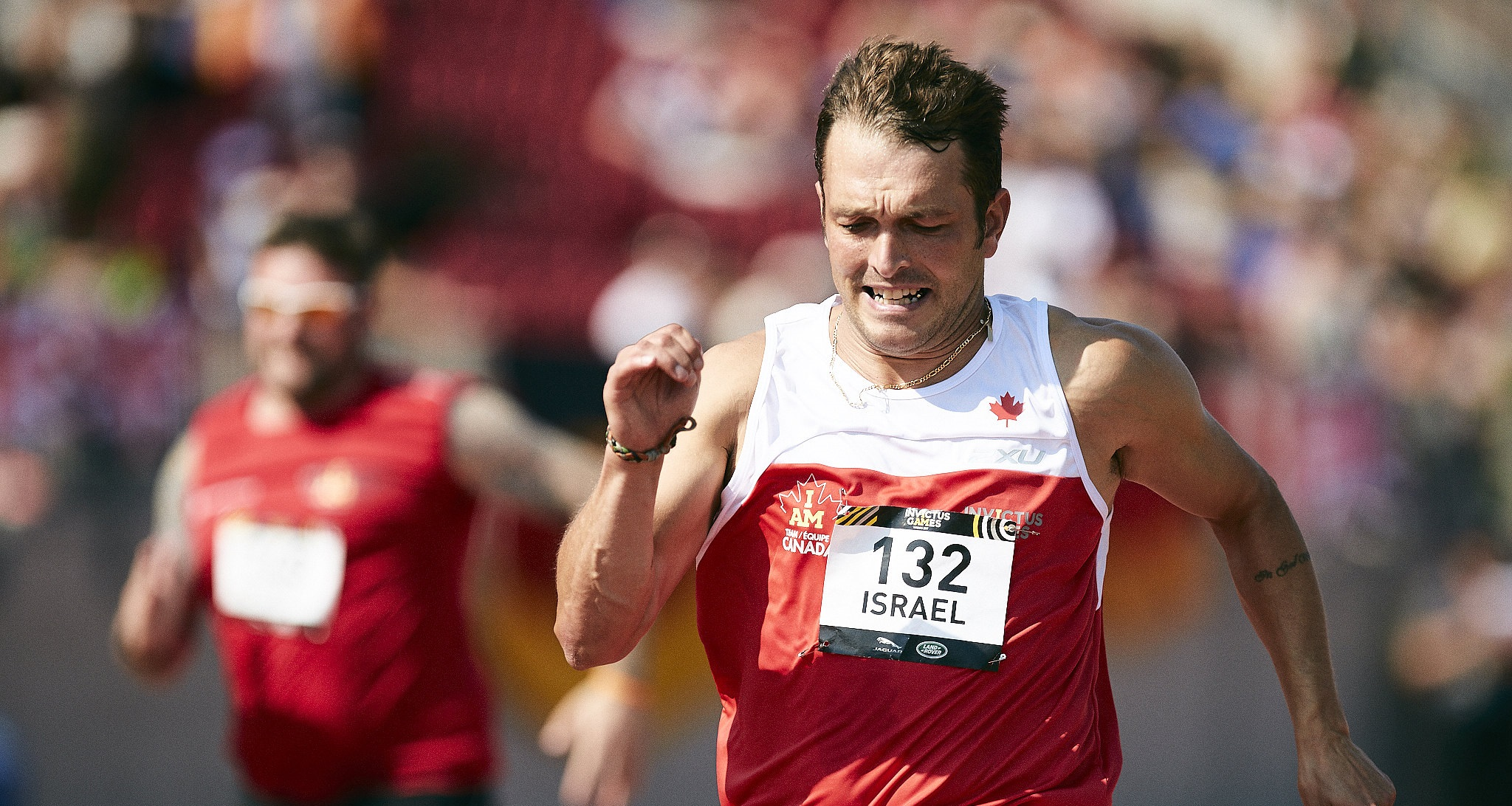 Jason Israel: Running to Recover Image
