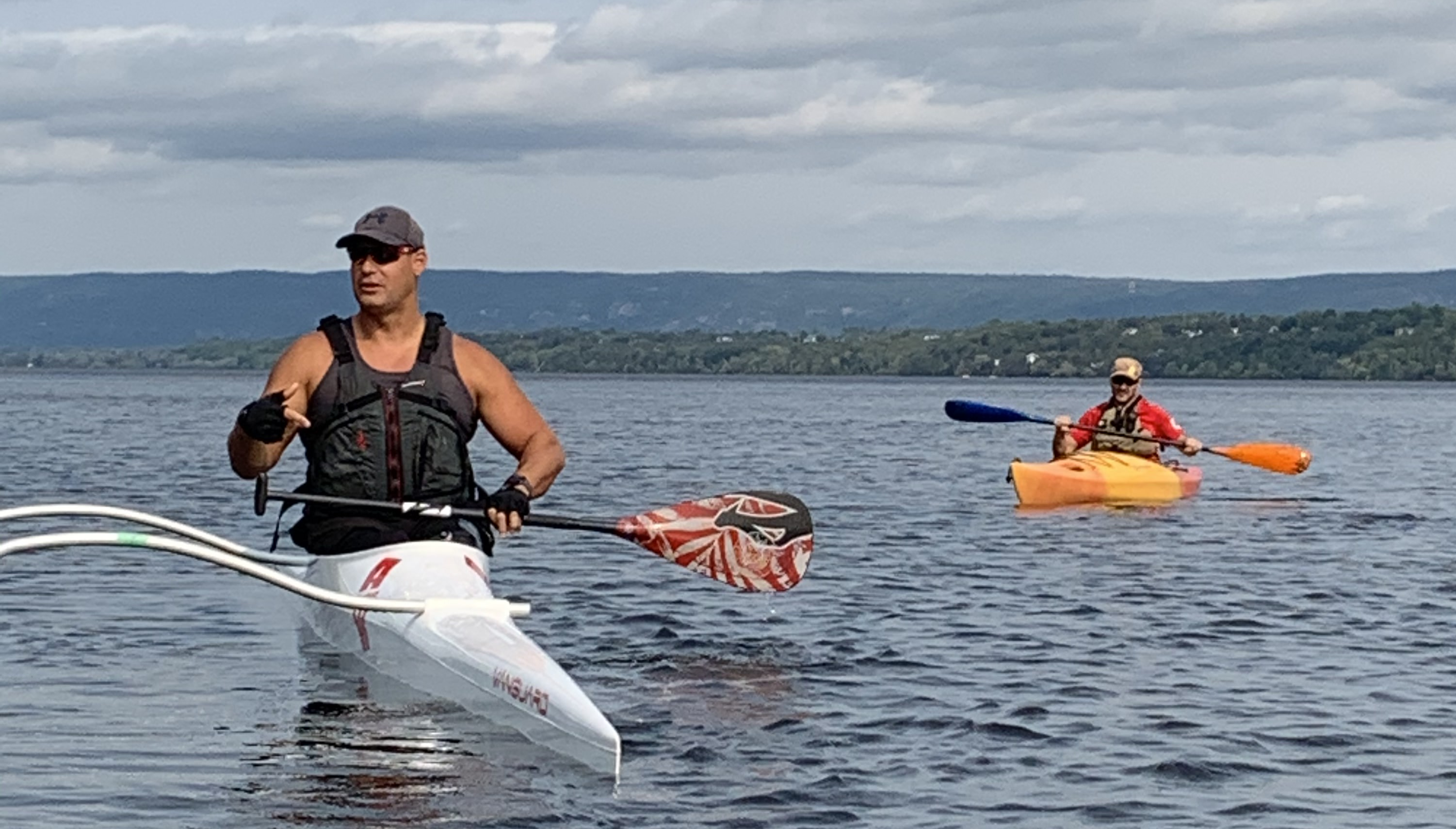Mike Trauner Joins Members on Kayaking Expedition Image
